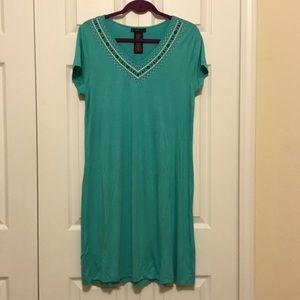 NWT Green Comfy Midi Dress